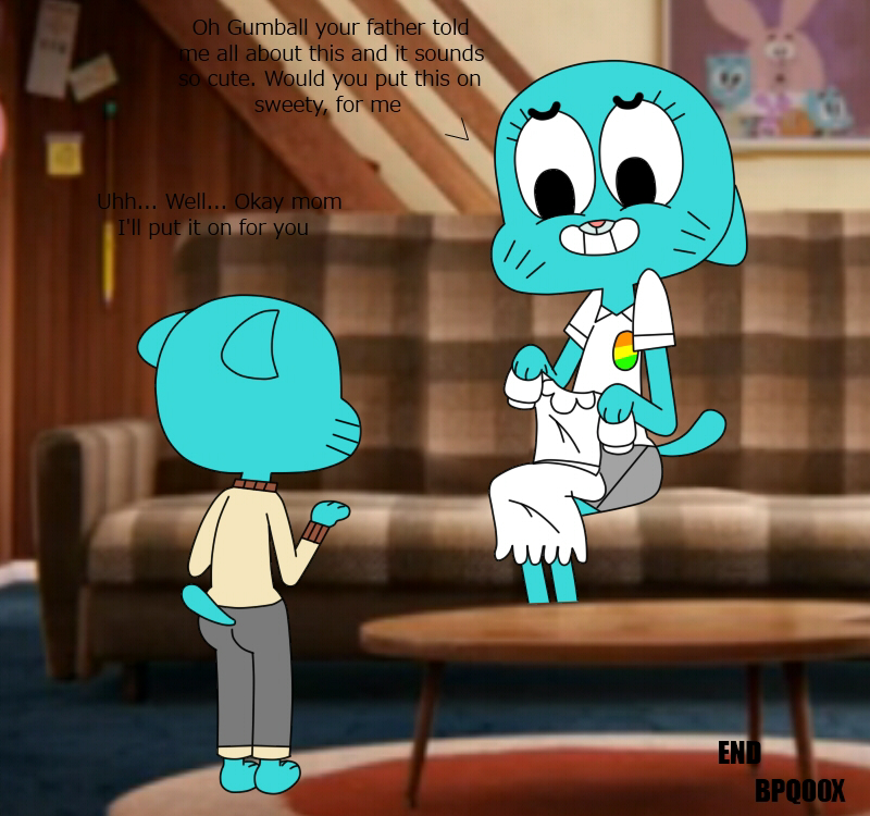 world the watterson gumball lady of amazing To a girls heart vore