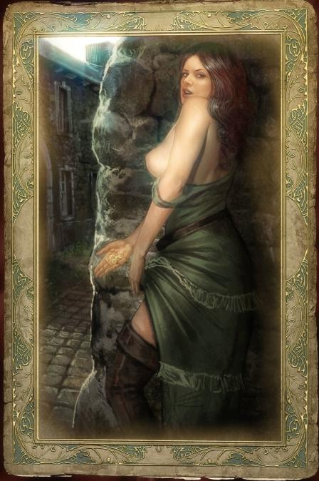 triss nude 3 the witcher You fool. you absolute buffoon
