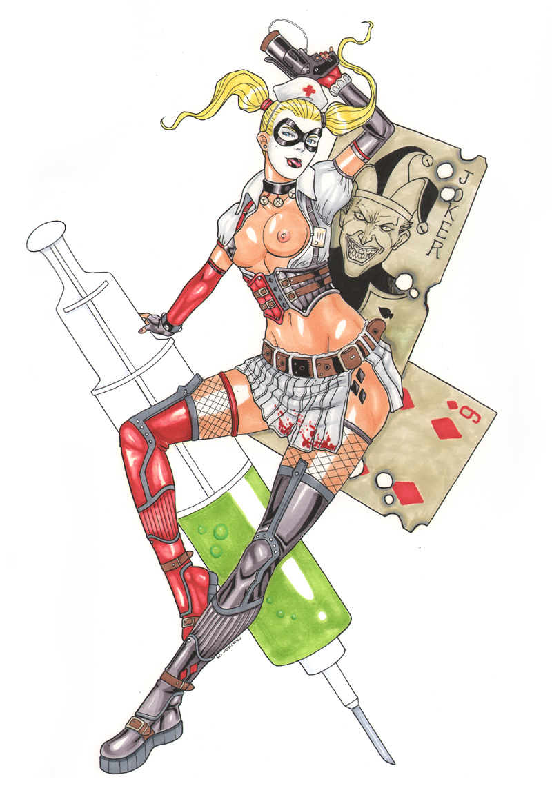 quinn harley asylum nude arkham Star vs the forces of evil pictures