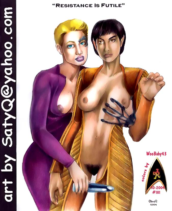 star 9 nude trek of 7 Fallout nv daughters of ares