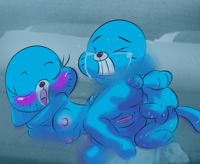 gumball amazing tina world of Pleakley from lilo and stitch