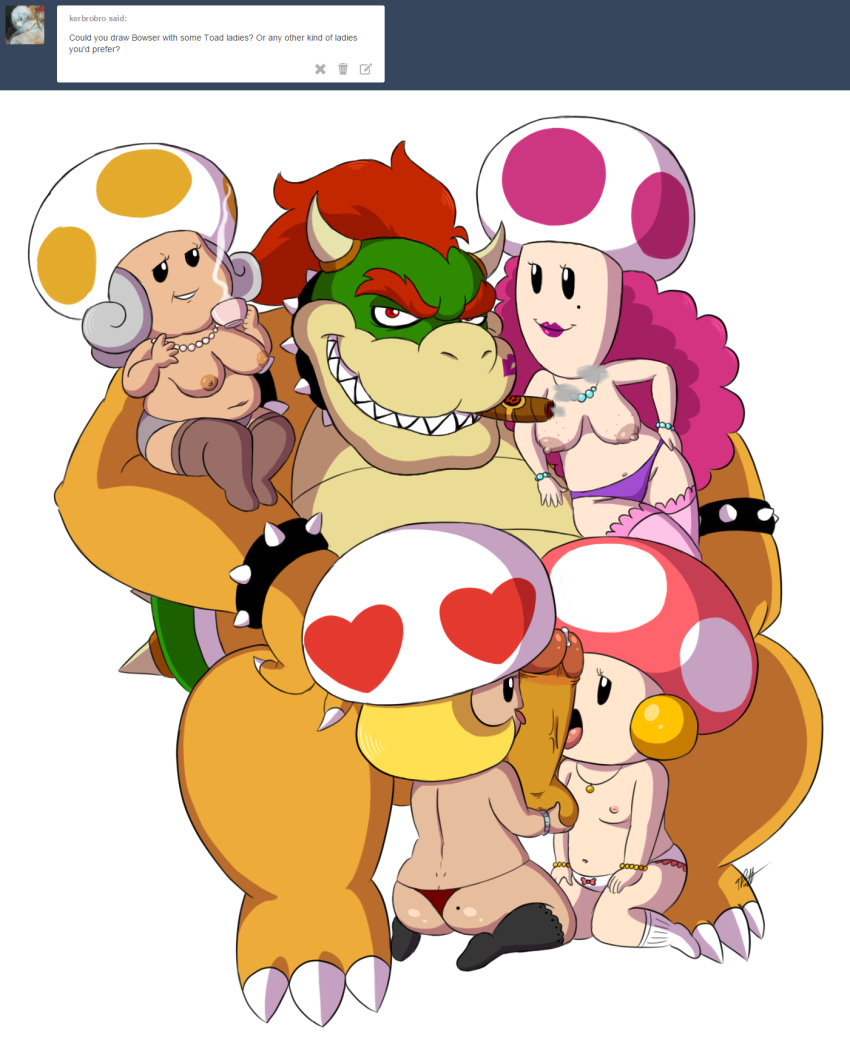 shroob luigi time and in princess mario partners Parappa the rapper