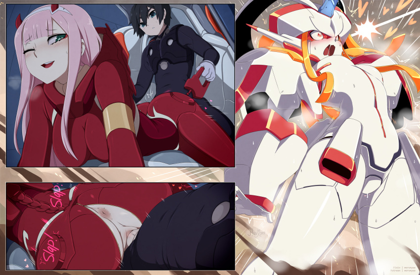 franxx in darling the hiro Sabrina, the animated series