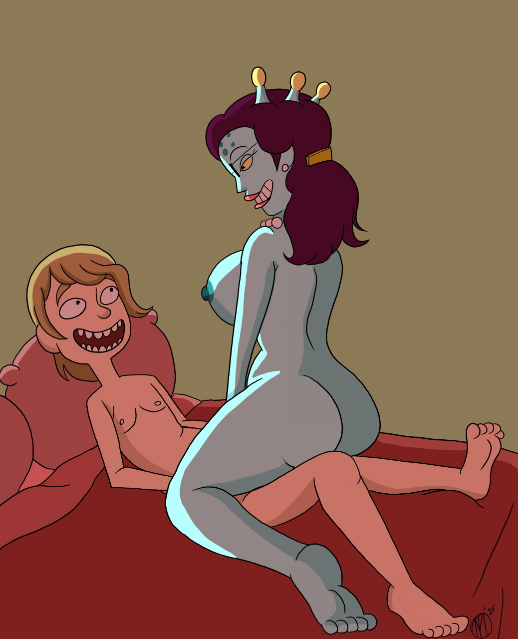 morty smith and nude rick beth Cat planet cuties eris naked