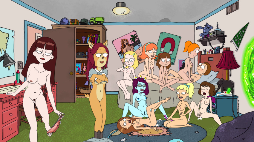 morty smith and beth rick nude Rick and morty jessica boobs